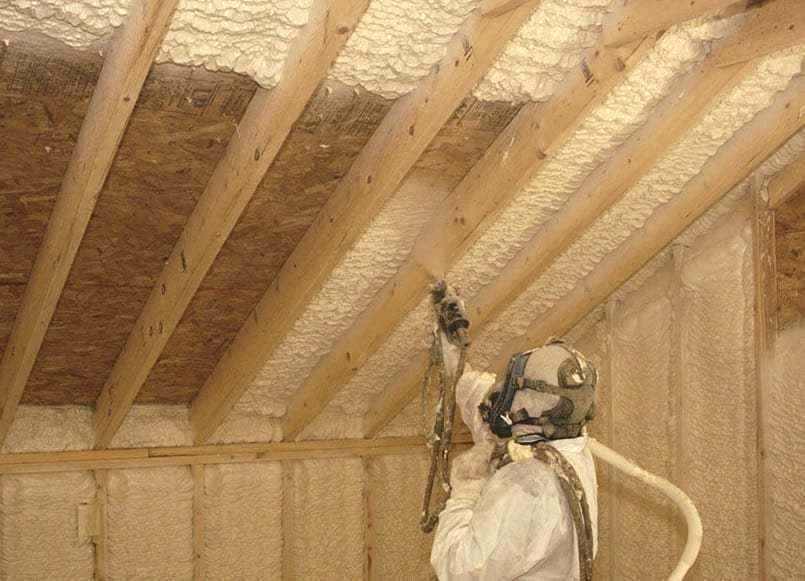 Resolve to take the chill out of winter with spray foam insulation Image
