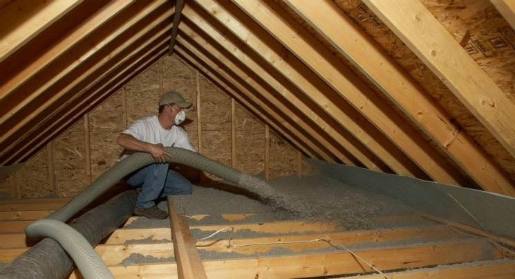 Cellulose insulation Image